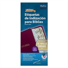 CATHOLIC BIBLE TABS GOLD (SPANISH)