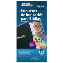 CATHOLIC BIBLE TABS RAINBOW (SPANISH)