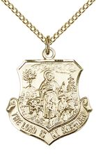 14kt Gold Filled Lord Is My Shepherd Pendant with chain
