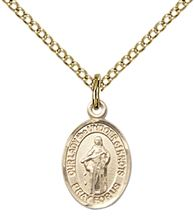 14kt Gold Filled Our Lady of Knots Pendant with chain