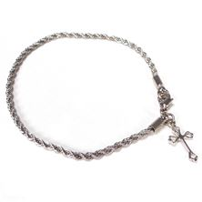 ROPE BRACELET WITH SIMPLE CROSS