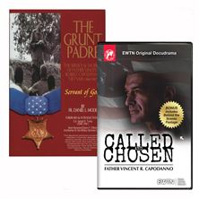 FR. VINCENT CAPODANNO BOOK and DVD SET