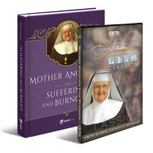 MOTHER ANGELICA ON SUFFERING AND BURNOUT and DVD SET