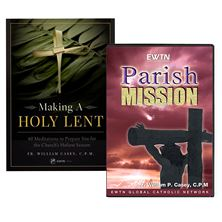 FR. WILLIAM CASEY'S LENTEN BOOK and DVD SPECIAL