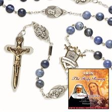 EWTN WARRIOR'S ROSARY and FREE CD SET