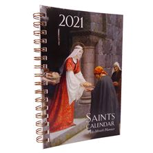16-MONTH SAINTS CALENDAR and DAILY PLANNER 2021