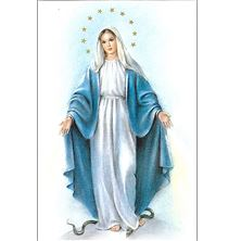 OUR LADY OF GRACE - UNFRAMED PRINT 8 X 10