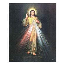DIVINE MERCY - UNFRAMED PRINT 8 X 10 (ENGLISH)