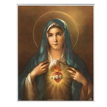 IMMACULATE HEART - UNFRAMED PRINT 8 X 10
