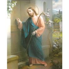 JESUS KNOCKING - UNFRAMED PRINT (8 X 10)