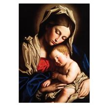 MADONNA AND HER CHILD CHRISTMAS CARDS (BOX OF 25)