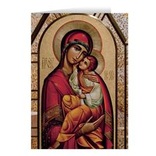 MOTHER OF GOD CHRISTMAS CARDS (BOX OF 25)