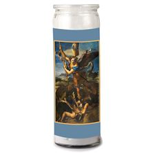 3-DAY VOTIVE CANDLE - ST. MICHAEL