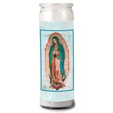 3-DAY VOTIVE CANDLE - OUR LADY OF GUADALUPE