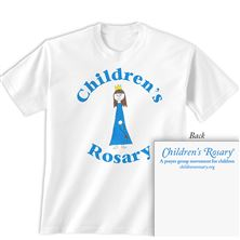 CHILDREN'S ROSARY T-SHIRT YOUTH