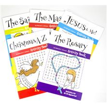 CHRISTMAS ACTIVITY BOOKS (SET OF 5)