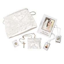 SIX PIECE FIRST COMMUNION PURSE SET