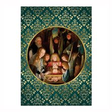 ADORATION OF SHEPHERDS CHRISTMAS CARDS (BOX OF 25)