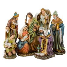 SIX PIECE NATIVITY SET  (16-INCH)