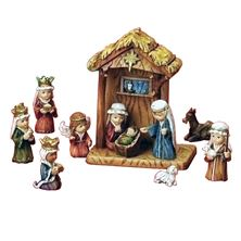 CHILD'S NATIVITY - 11 PIECE SET