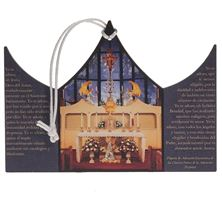 SPANISH OUR LADY OF THE ANGELS CHAPEL ORNAMENT
