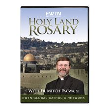 HOLY LAND ROSARY WITH FR. MITCH PACWA, SJ - DVD