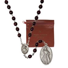 DIVINE MERCY CHAPLET AND POUCH SET