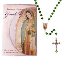OUR LADY OF GUADALUPE ROSARY AND BOOK (SPANISH)