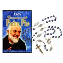 EWTN WARRIOR'S ROSARY and FREE PADRE PIO DVD