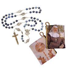 EWTN WARRIOR'S ROSARY and FREE MOTHER ANGELICA ROSARY POUCH