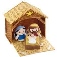 LITTLE BITTS NATIVITY and MANGER SET