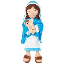 MOTHER MARY and JESUS PLUSH DOLL