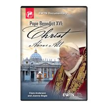 POPE BENEDICT XVI CHRIST ABOVE ALL DVD
