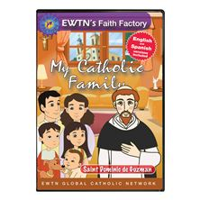 MY CATHOLIC FAMILY - ST. DOMINIC DE GUZMAN - DVD