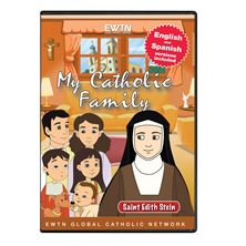 MY CATHOLIC FAMILY - ST. EDITH STEIN - DVD