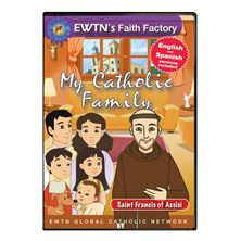 MY CATHOLIC FAMILY - ST. FRANCIS OF ASSISI - DVD