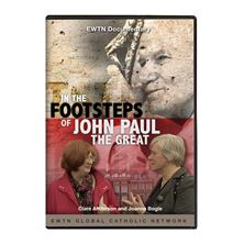 IN THE FOOTSTEPS OF JOHN PAUL THE GREAT  DVD