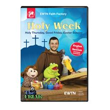 HOLY WEEK WITH THE FRIAR DVD