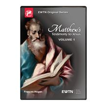 MATTHEW'S TESTIMONY TO JESUS VOLUME 1 DVD