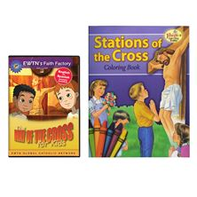 THE WAY OF THE CROSS FOR KIDS DVD and FREE COLORING BOOK
