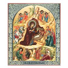NATIVITY OF CHRIST - BYZANTINE ICON