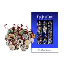 JESSE TREE BOOK AND ORNAMENTS SET