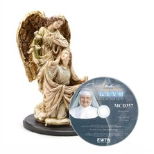 ANNUNCIATION STATUE and FREE MOTHER ANGELICA DVD