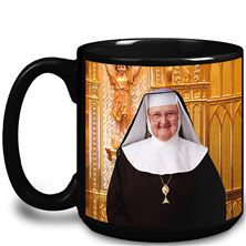 MOTHER ANGELICA SUPER SIZE MUG - BLACK
