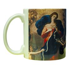 MARY UNDOER OF KNOTS MUG