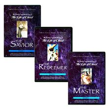 LIFE OF CHRIST DVD SET- MASTER / REDEEMER / SAVIOR