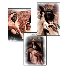 LIFE OF CHRIST: MYSTERIES OF THE ROSARY - DVD SET