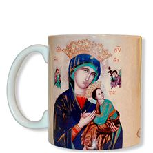 OUR LADY OF PERPETUAL HELP MUG