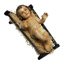 INFANT JESUS WITH CRIB - 10¾ INCH