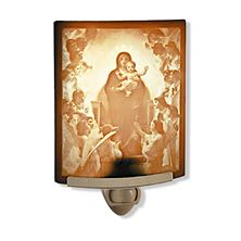 NIGHTLIGHT- OUR LADY OF THE ANGELS (CURVED)